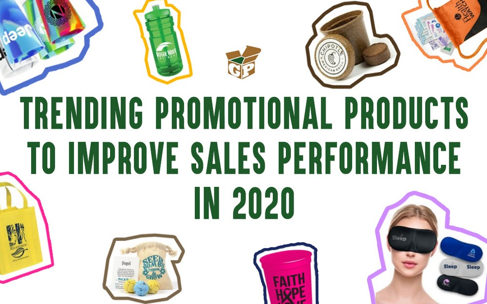 Trending Promotional Products to Improve Sales Performance In 2020