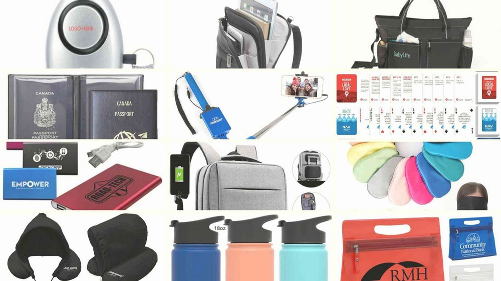 12 Promotional Gifts for Different Types of Travel